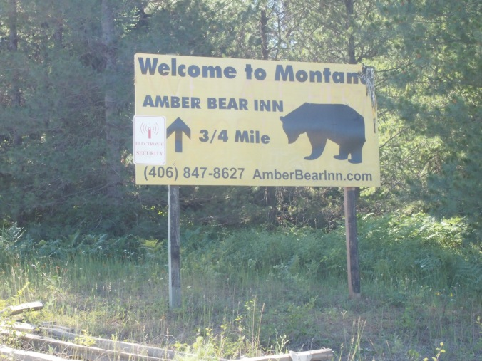 No official welcome from Montana, but at least the Inn was happy we arrived!